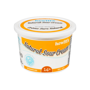 Hewitt's Sour Cream 14%