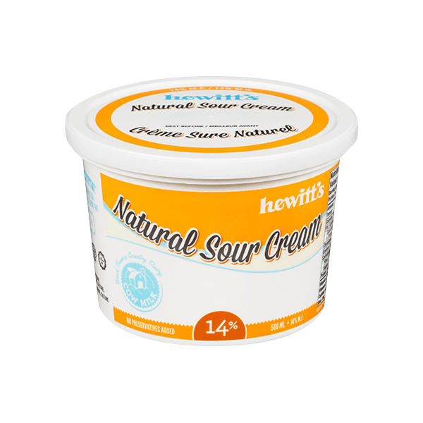 Hewitt's Sour Cream 14% 2