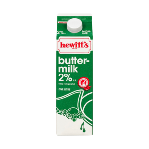 Hewitt's Buttermilk 2% 1L