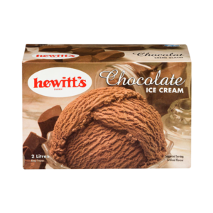 Hewitt's Ice Cream 2L carton