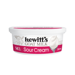 Hewitt's Goat Sour Cream 14%