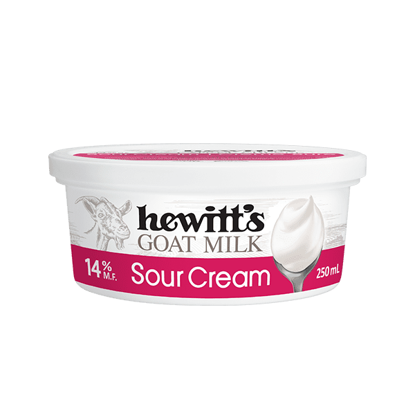 Hewitt's Goat Sour Cream 14% 2