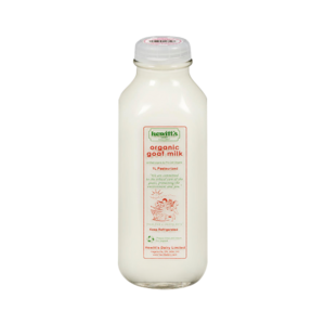 Hewitt's Goat Milk Organic 3.5%