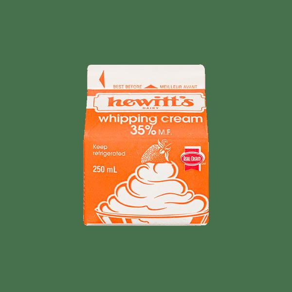 Hewitt's Cream 35% 3