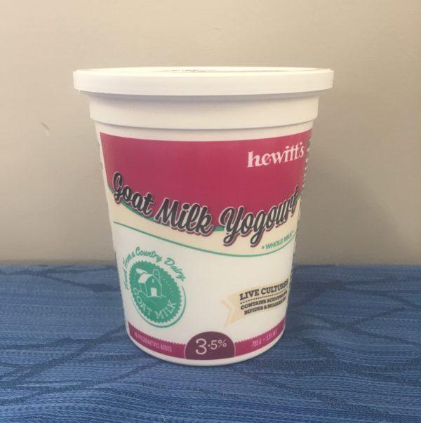 Hewitt's Goat Yogourt All-Natural 3.25% 3