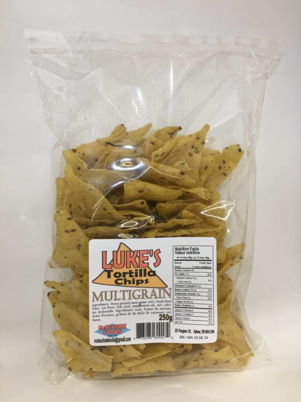 Luke's Tortilla Chips - Multigrain 3
