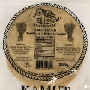 J&D Peters Kamut Tortillas