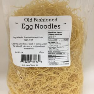 J&D Peters Thin Egg Noodles
