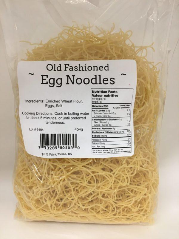 J&D Peters Thin Egg Noodles 3