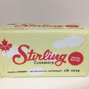 Stirling Creamery Barrel Churned Salted Butter
