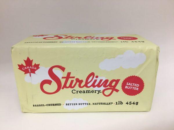 Stirling Creamery Barrel Churned Salted Butter 3