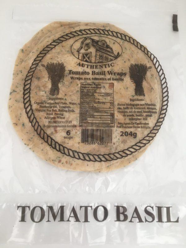 J&D Peters Tomato Basil Tortillas 3