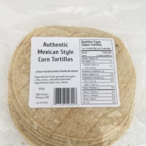 J&D Peters Corn Tortillas