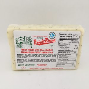 Bright Dill & Garlic Cheese