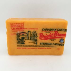 Bright Cheddar Cheese – Coloured