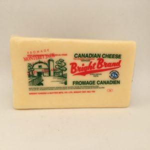 Bright Monterey Jack Cheese