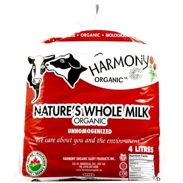 Harmony Organic Unhomogenized 3