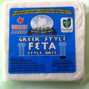 Quality Sheep Milk Greek Style Feta