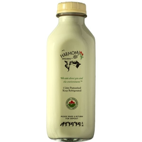 Harmony Organic 3.8% Egg Nog 3