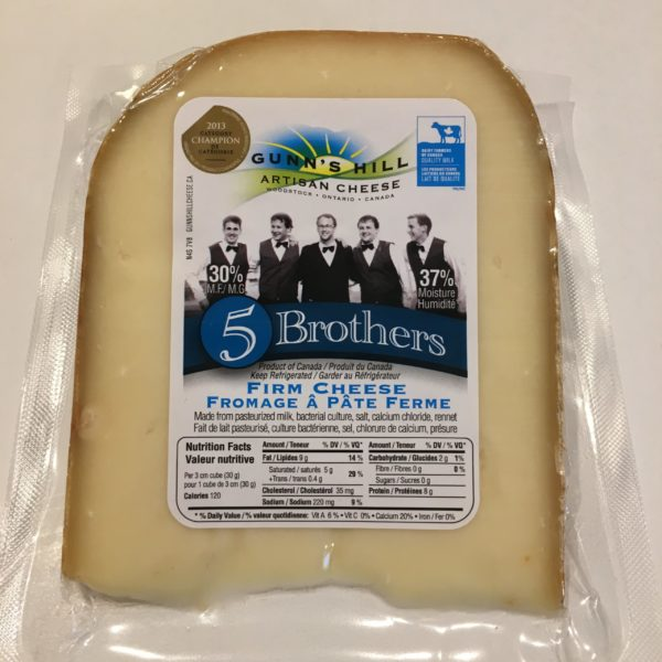 Gunn's Hill 5 Brothers Cheese 3
