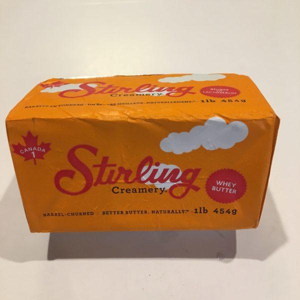 Stirling Creamery Barrel Churned Whey Butter 2