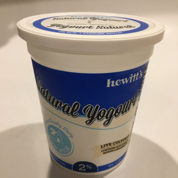 Hewitt's Yogourt All-Natural 2
