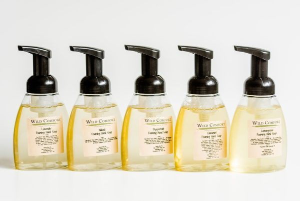 Wild Comfort Foaming Hand Soap 3