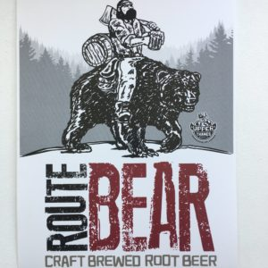 Upper Thames Route Bear – Craft Brewed Root Beer