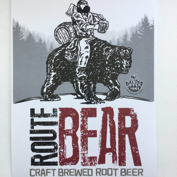 Upper Thames Route Bear - Craft Brewed Root Beer 3