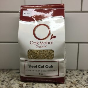 Oak Manor Steel Cut Oats