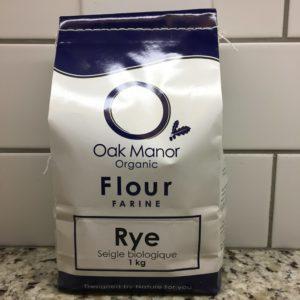 Oak Manor Rye Flour