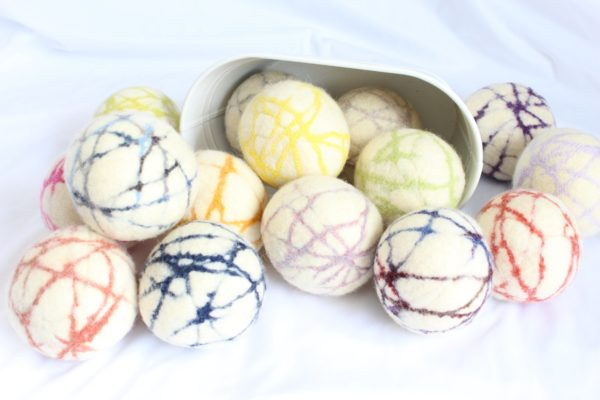 Living Stitches Wool Dryer Balls 3