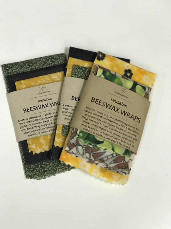 Living Stitches Beeswax Food Wraps 3