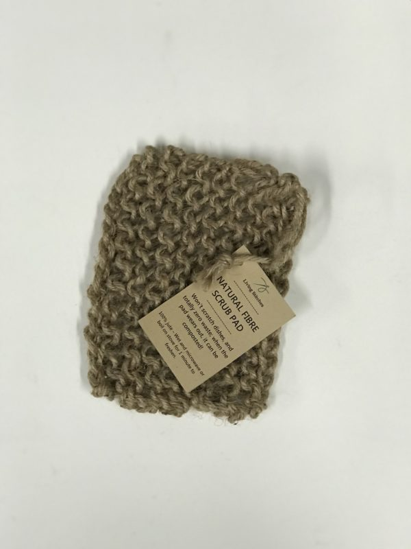 Living Stitches Natural Fibre Scrub Pad 2