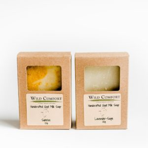Wild Comfort Goat Milk Bar Soap