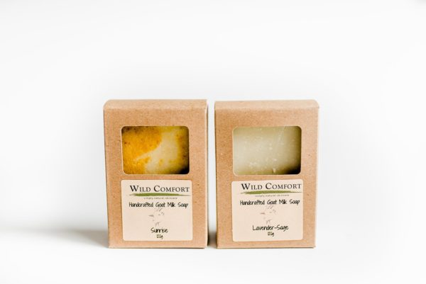 Wild Comfort Goat Milk Bar Soap 3