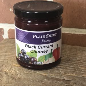Plaid Shirt Farms Black Currant Chutney