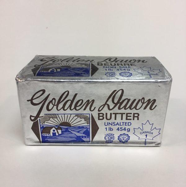 Golden Dawn Butter Unsalted